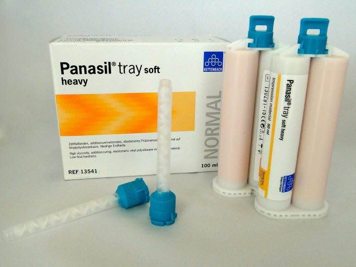 Panasil tray soft - heavy body