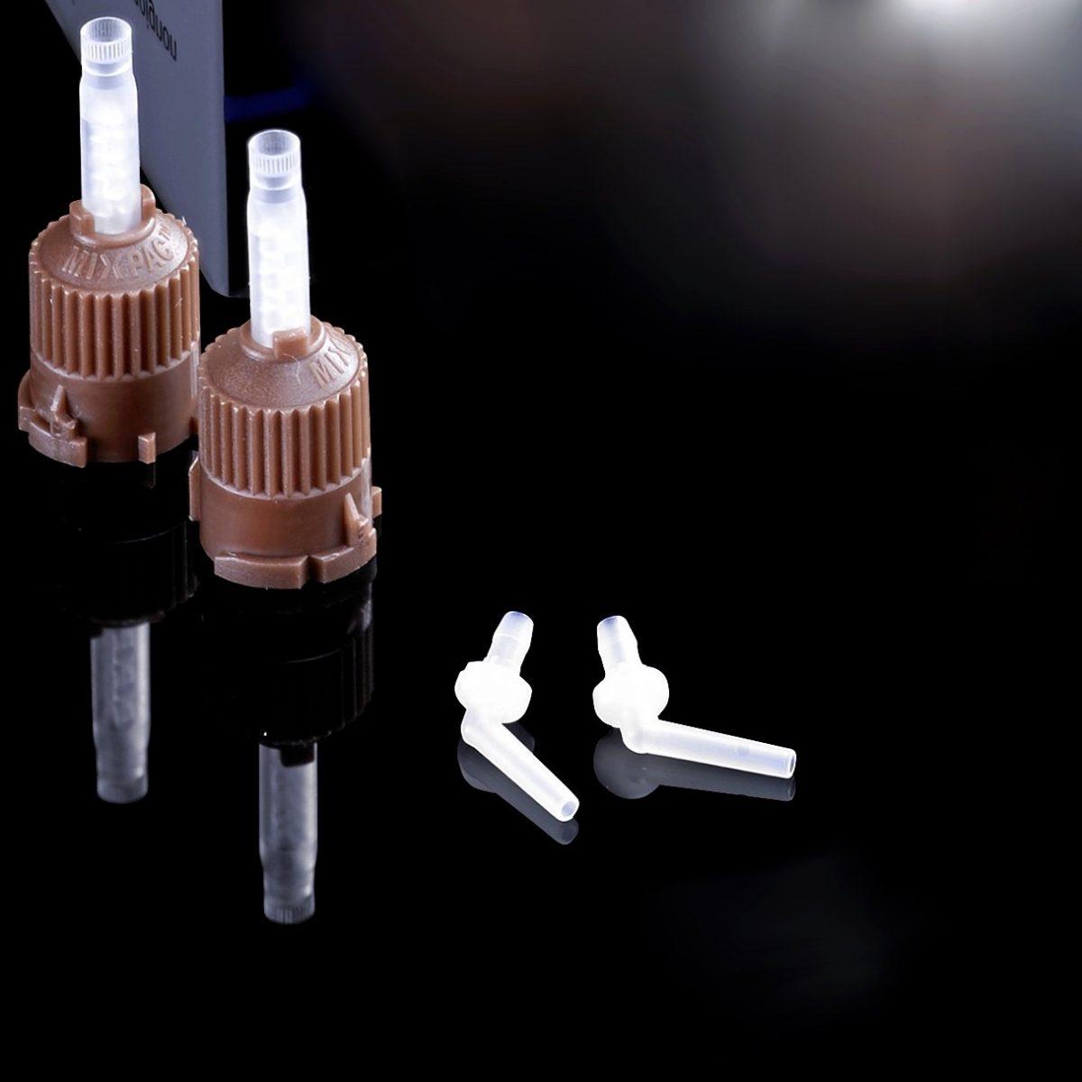 Intraoral tips voor 2,5 mm bruine mengtips